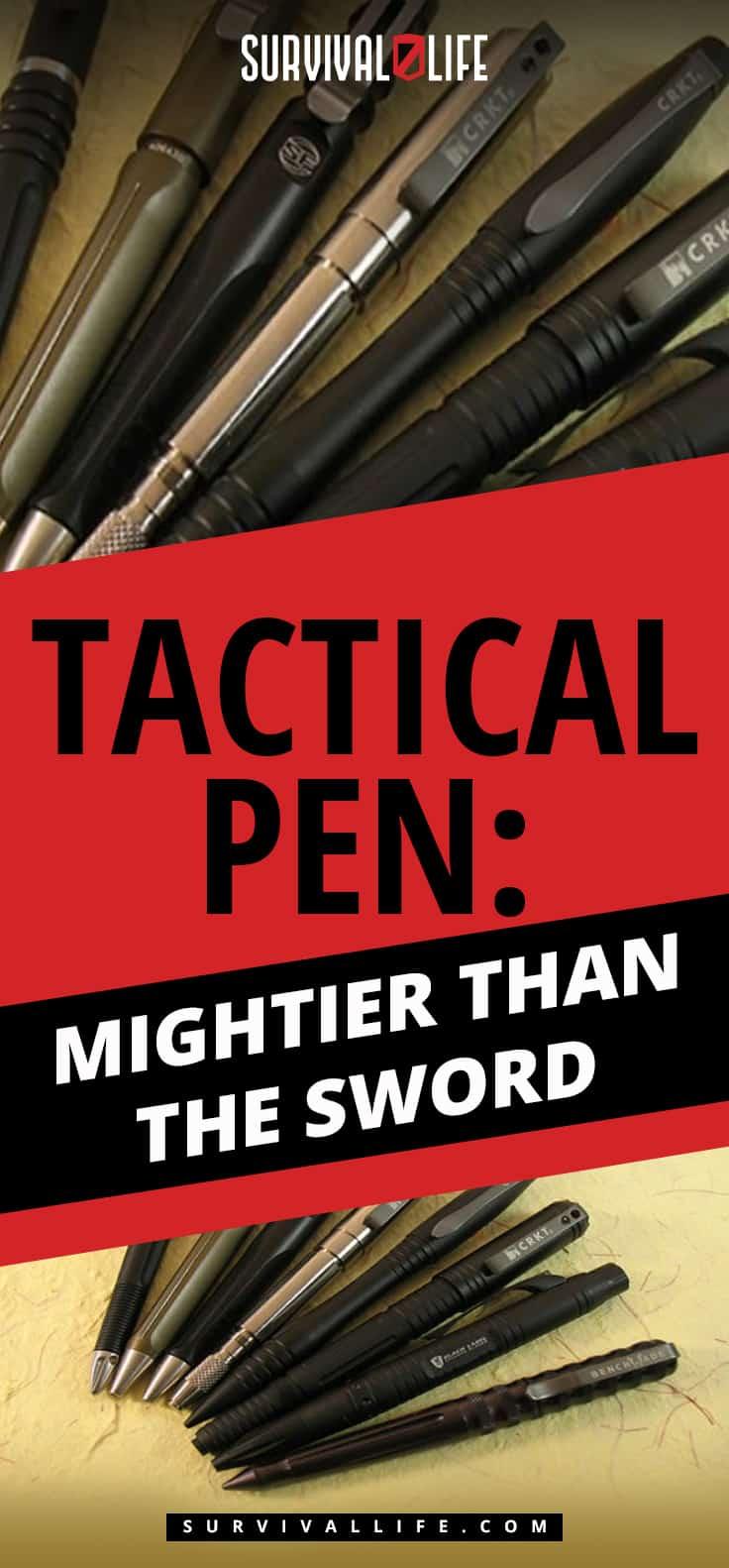 Tactical Pen   Tactical Pen: Mightier Than The Sword