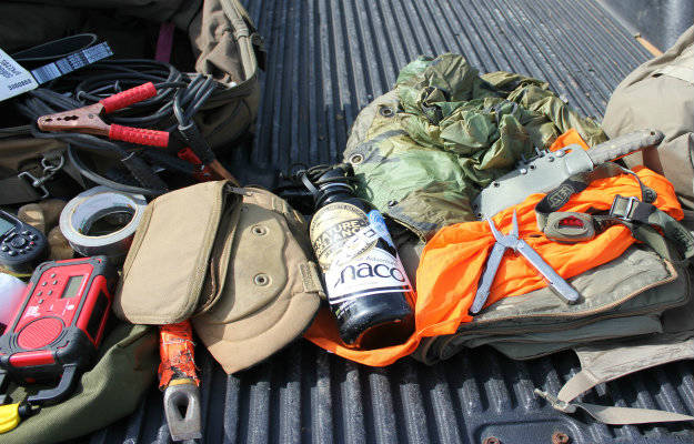wilderness survival kit, rural survival kit, prepper gear and survival supplies