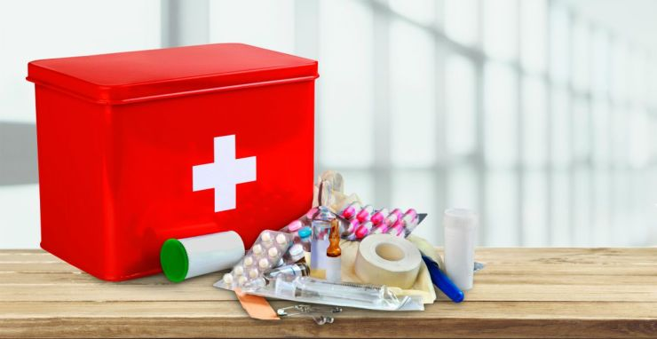 First aid kit with medical supplies | Ways To Prepare For Economic Collapse | Things You Should Do
