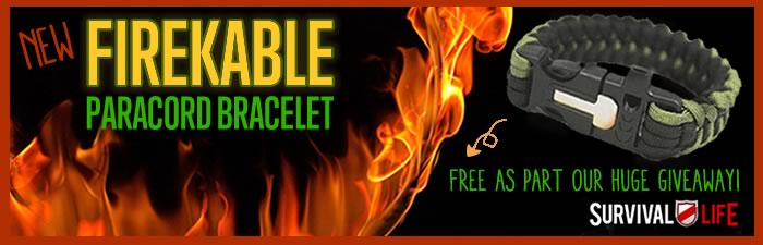 Free Paracord Bracelet - FireKable by Survival Life | How To Make A Paracord Bracelet