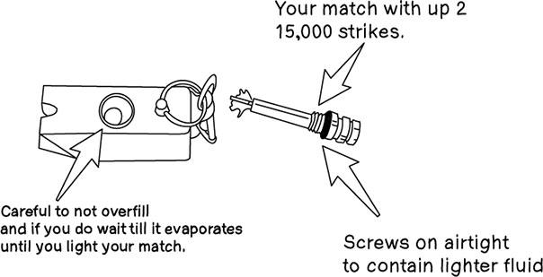 everstryke match, fire starter, survival gear