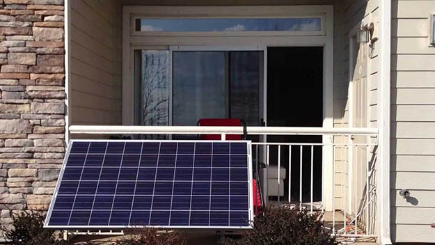 These days, you can go off grid to some degree with the right solar power setup .