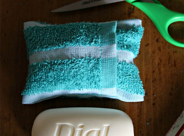 Soap Pouch | 25 Badass Camping Hacks For Your Next Trip