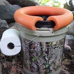 Bungie Cord Chair Comfy Reading Chairs Video Tutorial: Diy Outdoor Toilet