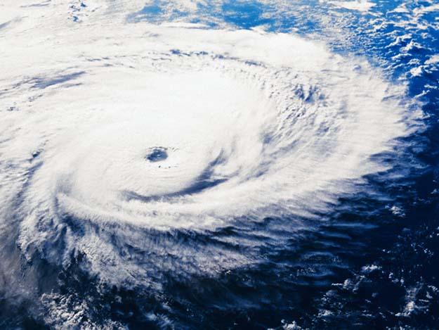 1985 --- Typhoon Pat --- Image by © Royalty-Free/Corbis