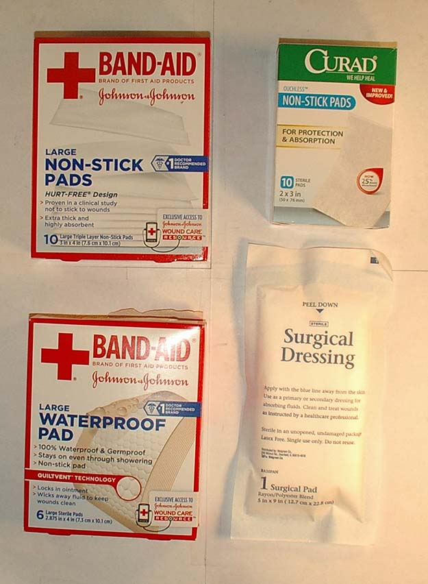 Check out Building a Target First Aid Kit: Part 1 at https://survivallife.com/survival-hacks-building-first-aid-kit-part-1/