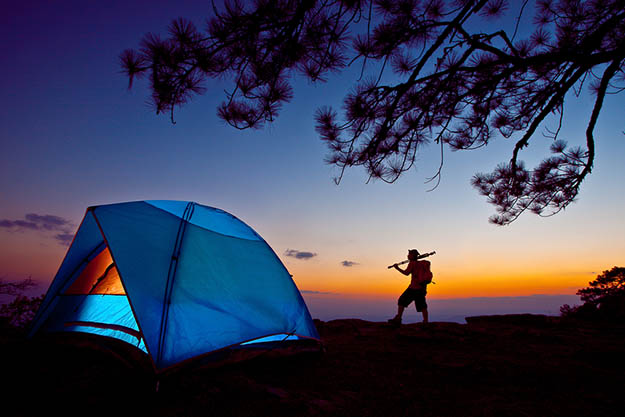 Whether you're a prepper or survivalist, a Smoky Mountains camping trip is a great opportunity to hone your skills. Via visitmysmokies.com