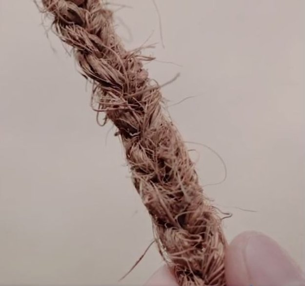 DIY Rope Coconut Fiber | DIY Cordage | How to Make Your Own Coconut Rope