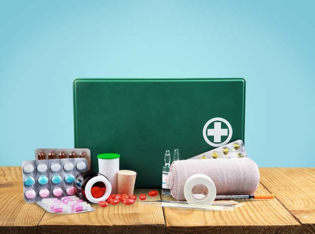 New Year Tips: Stock up on First Aid Supplies