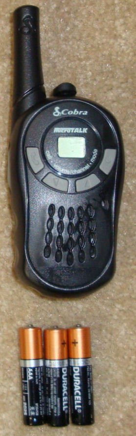 Cobra CD80 walkie talkie | Emergency Radio Communication Plan For Disasters