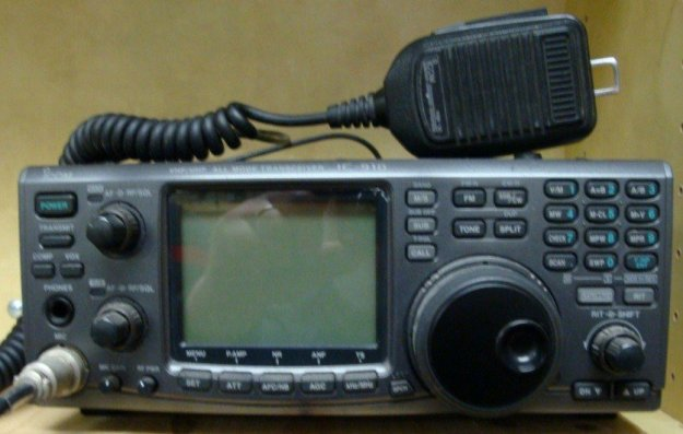 ICOM IC-910 satellite transceiver. (Photo courtesy of MCHS ARC.) | Emergency Radio Communication Plan For Disasters