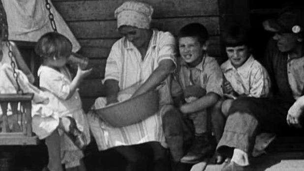 great depression family