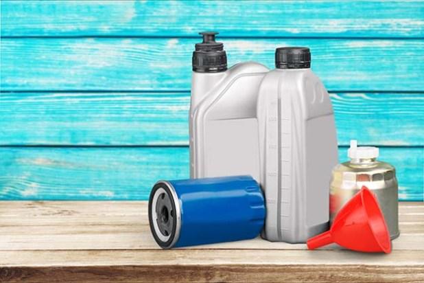 oil change supplies