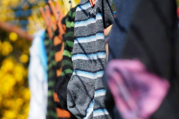 Hang Wet Laundry On A Clothesline Rather Than Turning On Your Dryer | Ways to Keep Your House Cool During The Summer