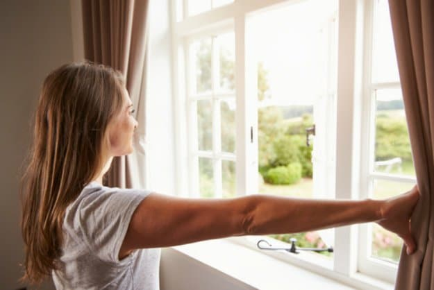 Open Windows At Both Ends Of The House | Ways to Keep Your House Cool During The Summer