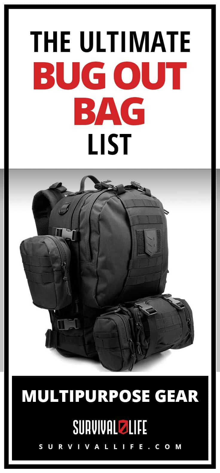 Bug Out Bug | The Ultimate Bug Out Bag List: Multipurpose Gear