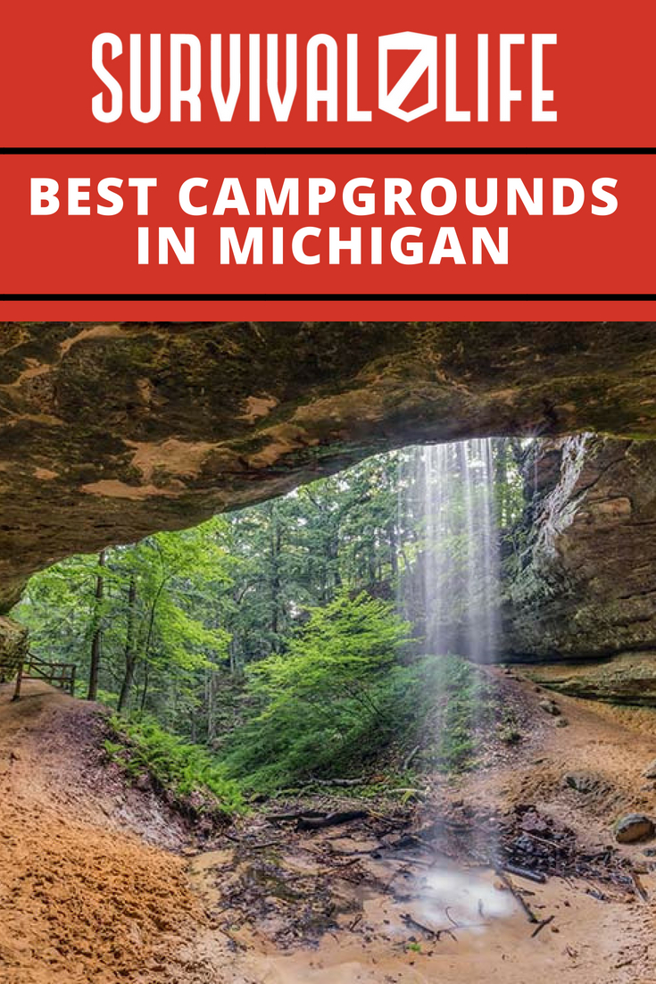 Best Campgrounds In Michigan | https://survivallife.com/best-campgrounds-michigan/