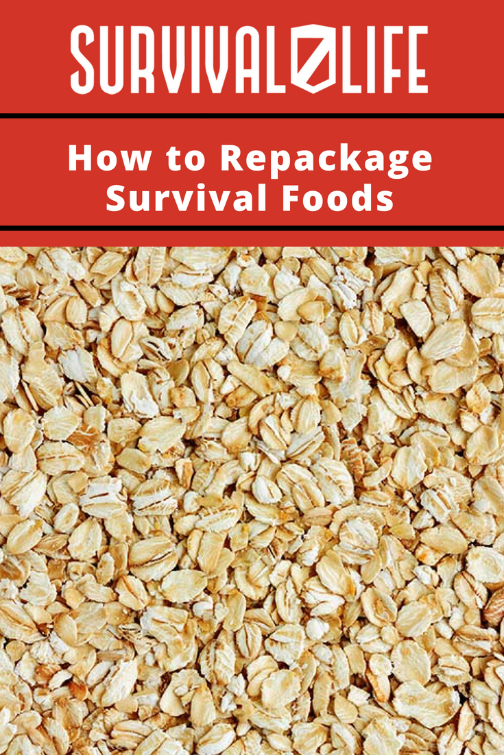Check out How to Repackage Survival Foods at https://survivallife.com/repackage-survival-foods/