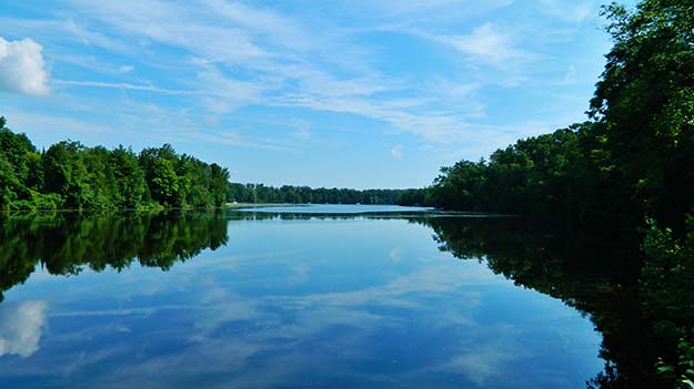Franklin Lake, Wisconsin.