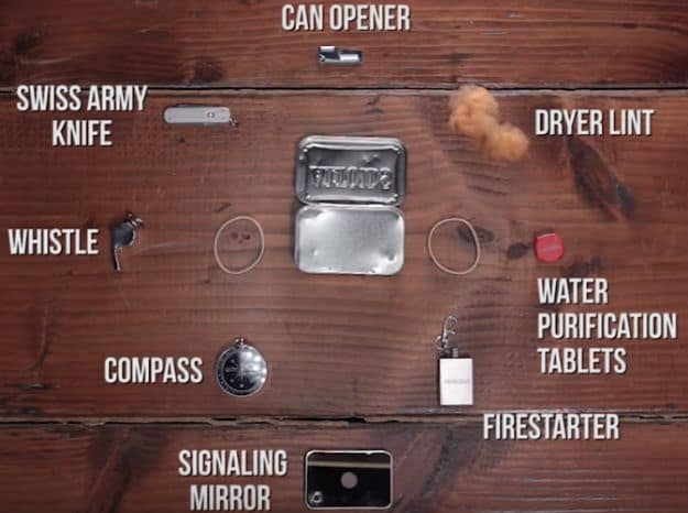 Step 7: Add a signaling mirror | How To Build The Perfect Pocket-Sized Survival Kit