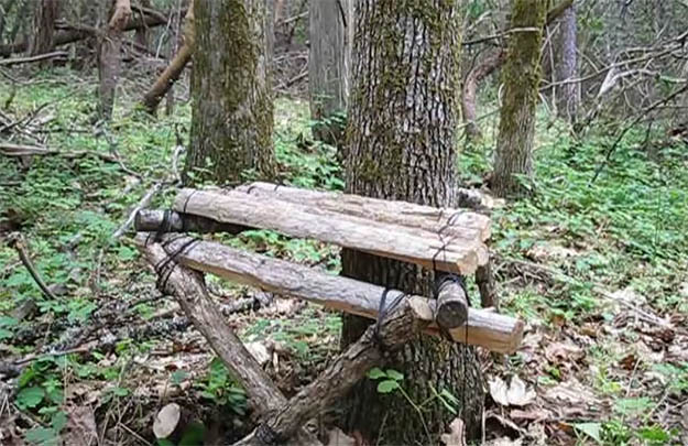How to Make a Bushcraft Camp Chair | 29 YouTube Survival Skills Videos That You Can Learn At Home