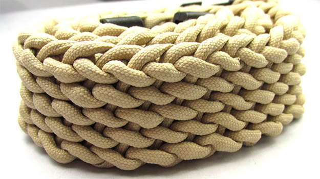 How to make a Paracord Belt | 29 YouTube Survival Skills Videos That You Can Learn At Home