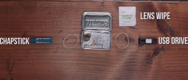 Chapstick | Make Your Own Altoids Urban Survival Kit