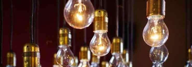 Hanging light bulbs | Grow Your Garden All Year Long With An Indoor Garden