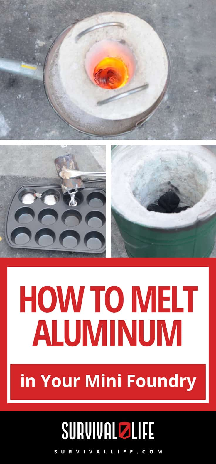 How to Melt Aluminum in Your Mini Foundry