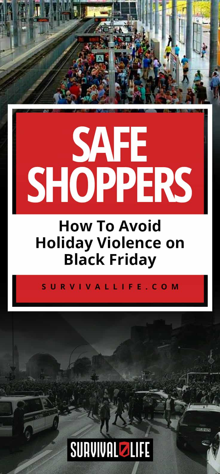 Safe Shoppers   How To Avoid Holiday Violence on Black Friday