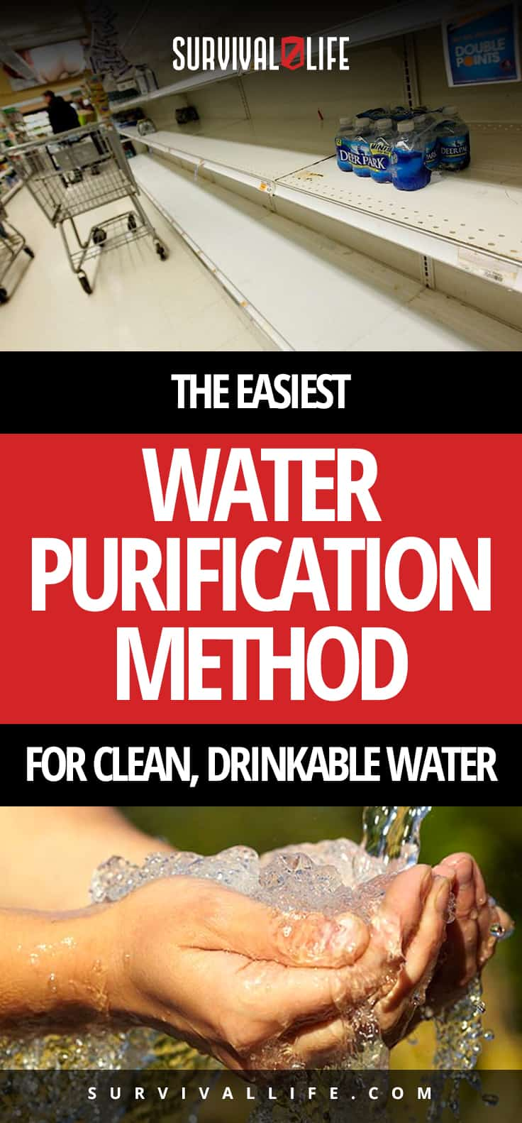 The Easiest Water Purification Method For Clean, Drinkable Water