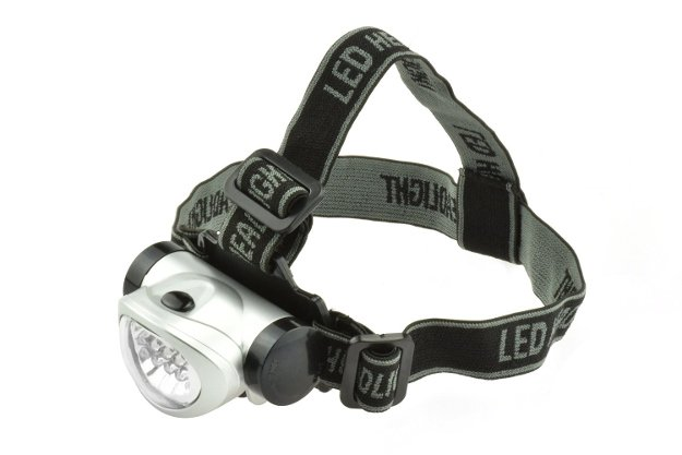 Stow Bag 8 LED Headlamp | A Black Friday Wishlist For The Best Survival Gear