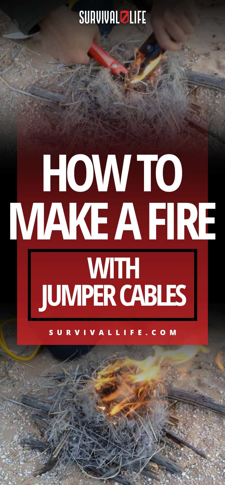 How To Make A Fire With Jumper Cables
