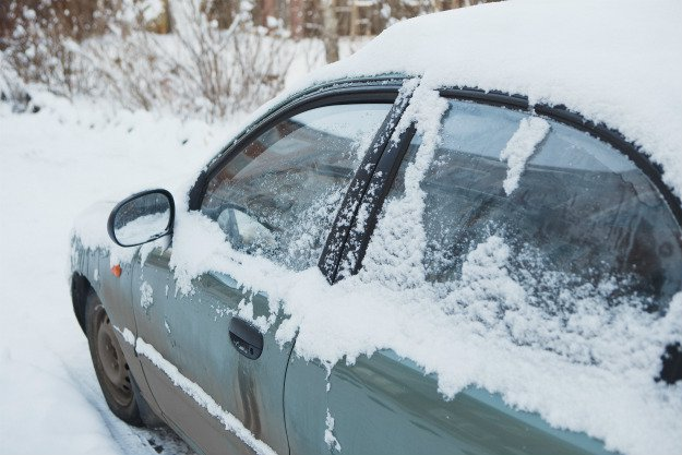 car-stuck-covered-in-snow Survival Emergency Car Kit   The DIY Kit That Could Save Your Life