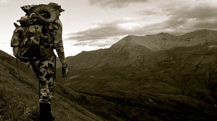 A hunter seeing the horizon | How To Pack A Backpack For A 7-Day Hunting Trip