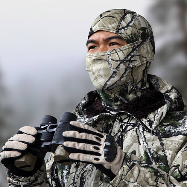 Face Mask | Dressed For The Kill - A Snappy Hunter's Guide To Hunting Clothes