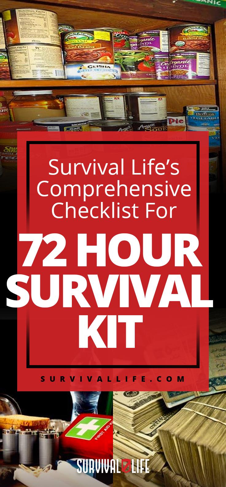 Survival Life's Comprehensive Checklist For 72 Hour Survival Kit   Bug-Out Kit