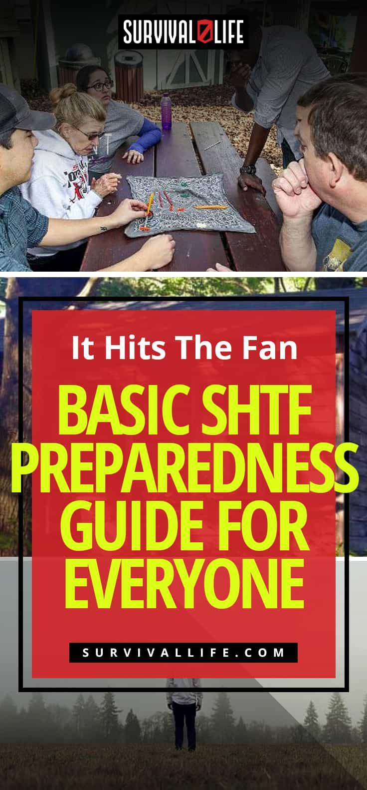 It Hits The Fan – Basic SHTF Preparedness Guide For Everyone