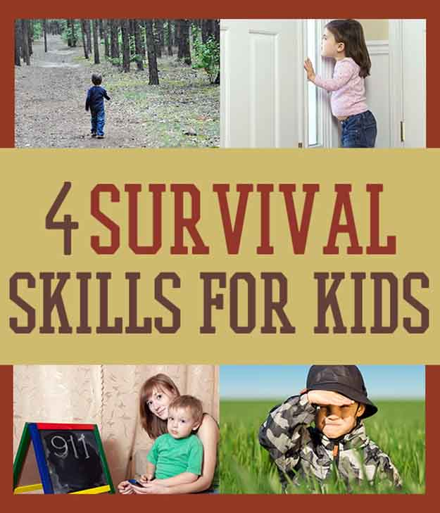 A Family Survival Guide: 4 Survival Skills for Kids | Survival Hacks And Skills You Should Know