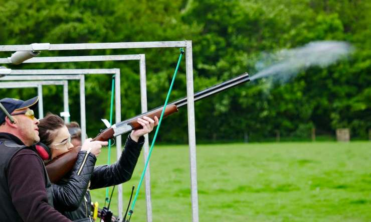 A girl practice shooting hunting shotguns | These Hunting Shotguns Are The Best Bang For Your Buck