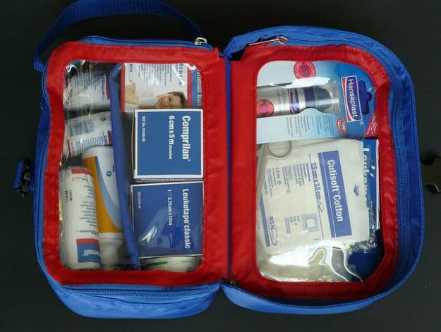 First Aid Kit | Here's What Your Hurricane Survival Kit Should Look Like