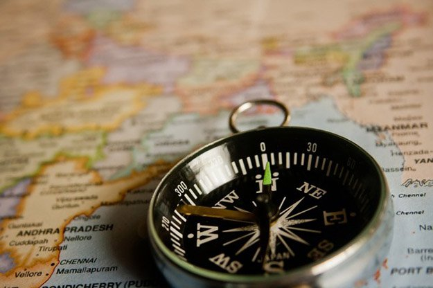 Map and Compass | 15 Important Survival Kit Items You Need To Prepare