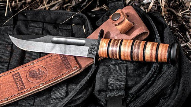 Ka-Bar USMC Fighting Knife | A Knife To A Gun Fight? Win With The Best Tactical Knives