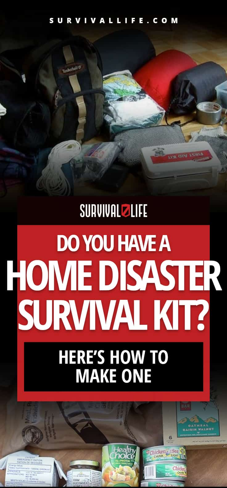 Do You Have A Home Disaster Survival Kit? Here's How To Make One