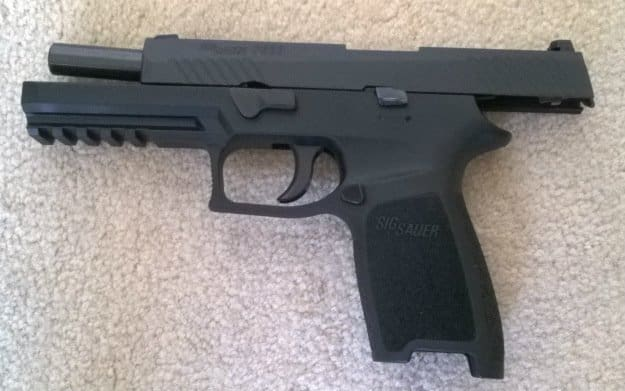 SIG Sauer P320 Review | Features, Application and Observations open
