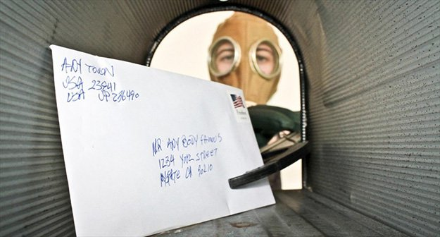 Check Packages Or Letters   12 Biological Weapons Survival Tips