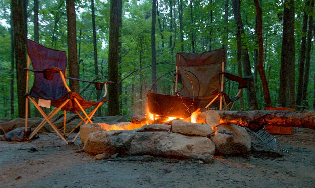 Is Dutch Oven Cooking A Part Of Your Emergency Plan? [Video Tutorial] fire with chairs