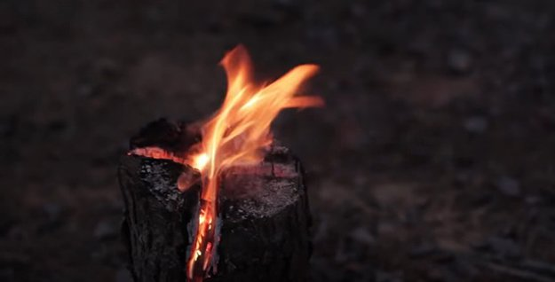 DIY Swedish Torch | 29 YouTube Survival Skills Videos You Can Learn At Home