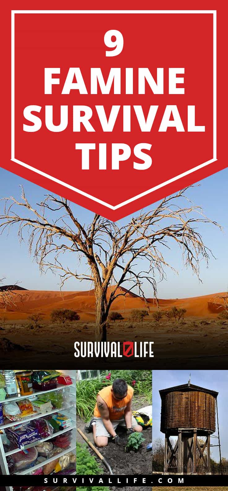 Famine Survival Tips: How To Survive Food Shortage | https://survivallife.com/famine-survival-tips/
