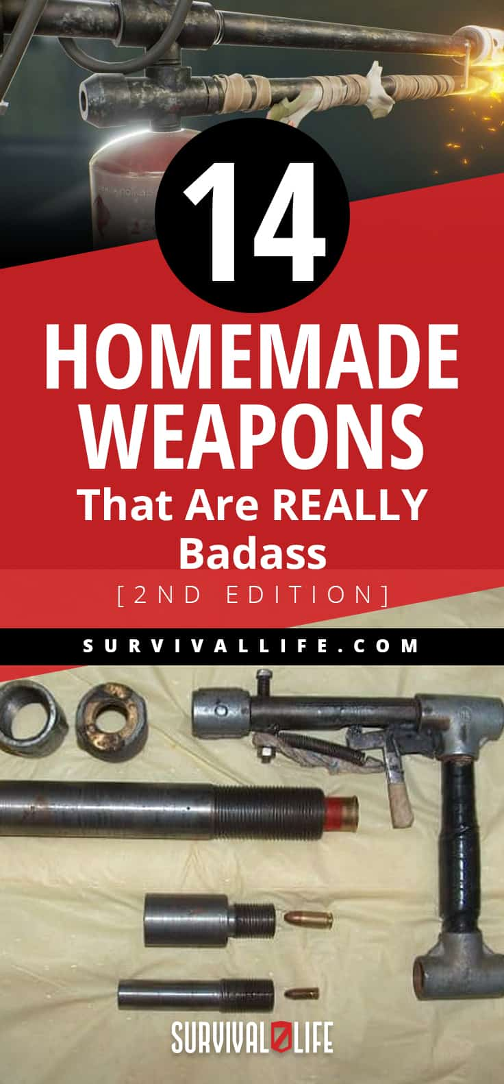 Placard | Homemade Weapons That Are REALLY Badass [2nd Edition] | Survival Life | Unique medieval weapons